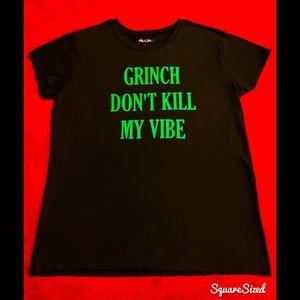 Super Cute! The Grinch Christmas T-Shirt, L/XL